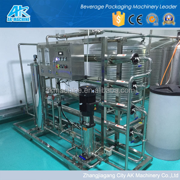 Reverse Osmosis Water Purification System RO water treatment plant for drinking water