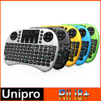 Rii i8+ 2.4G Wireless gaming Mini Keyboard for Android TV Box PC with Multi-touch up to 15 Meter