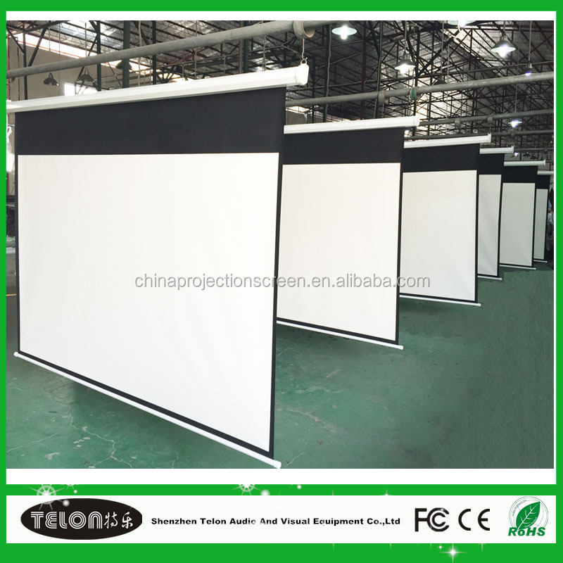 hot sale electric beamer screen 16:9 with best quality and low price