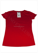 Red Women Tops T-shir women's comfortable and fashion t-shirt