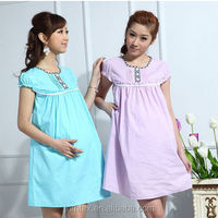 Comfortable100%Cotton casual wear for pregnant women,maternity for women