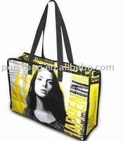 zipper shopping tote bag