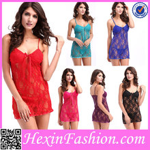 Top Sale Cheap Sexy Lingerie Hot Baby Doll Women Sleep Wear No MOQ