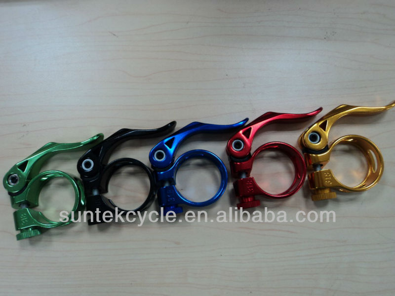 KC-89 Good quality quick release bicycle 25.4/28.6/31.8/34.9mm bicycle seat post clamps