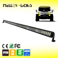 Good design 50 inch 288W with other power led bull bar light rigid led light bar,rigid led light bar