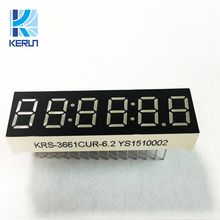 Direct Factory Price China Ultra red tupe six 6 digits 7 segment led display 0.36inch for home appliances
