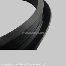 Jiangyin Huayuansupply all kinds of EPDM solid rubber parts for garage door bottom seal
