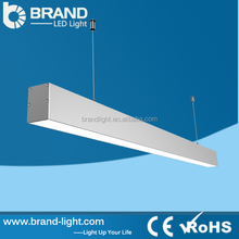CE RoHS Continuous LED Pandent Lights IP 54 LED Linear Fixtures Commercial Lighting Supermarket Use