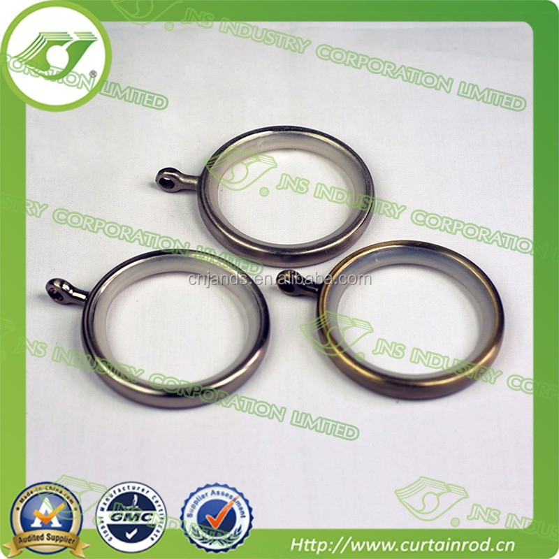 stainless steel curtain ring,square metal curtain rings