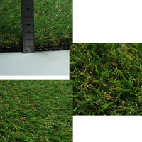 Different kinds brush artificial turf, high temperature fake grass mat, outdoor grass carpet for home garden