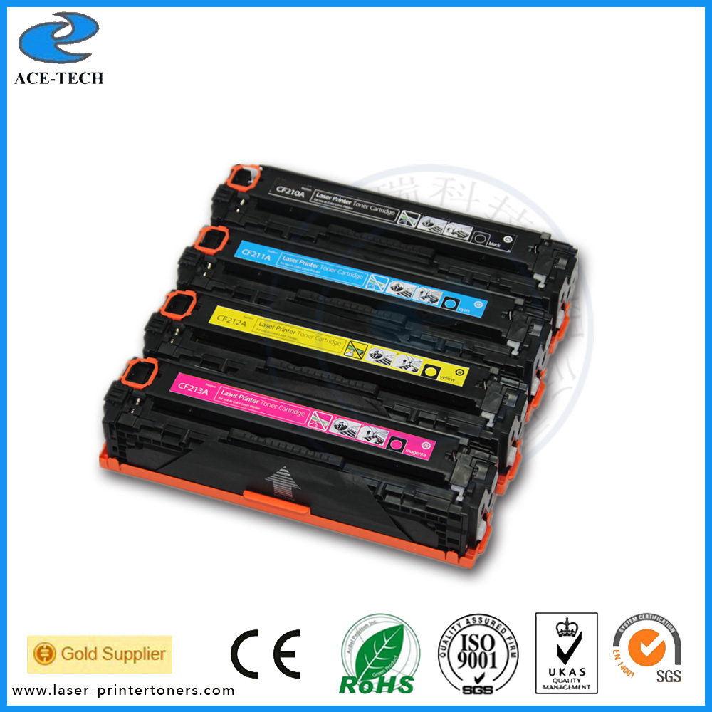 Colours cartridge CF210A for hp original toner cartridge Laserjet pro M267 200 M251 laser printer
