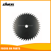 HOT SELLING fast cutting 255mm 40t tct grass cutter China brush cutter round 40t blades without holes