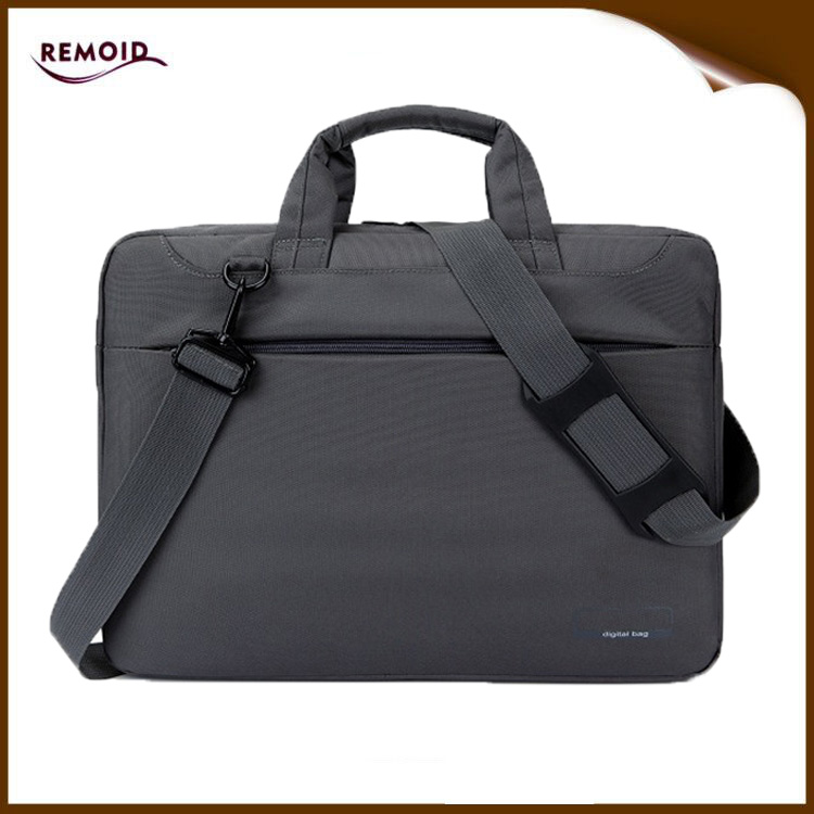 Competitive price shockproof quilted polyester laptop briefcase