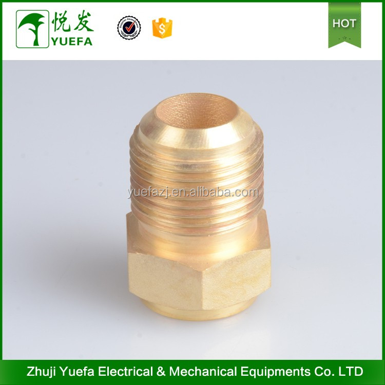 Best Seller Water Fitting Male Air Conditioner Brass Adapter