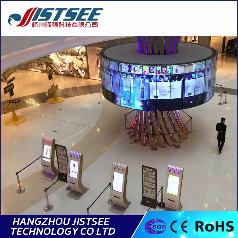 South Korean design with software big program fantastic with cell phone show display interactive LCD video wall