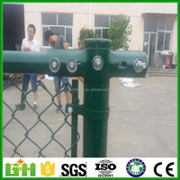 single twist wire mesh / fence for baseball playground