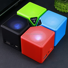 Mini water cube Bluetooth speaker gift, portable mini speaker, card wireless Bluetooth stereo