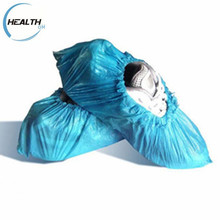 Eco-Friendly Anti-slip CPE Plastic Medical Disposable CPE Shoe Foot Covers