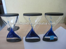Promotional Acrylic Liquid Timer with color fall motion drops