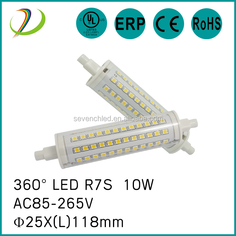 High Lumens r7s led 78mm 5w 10W Led Linear, 360 degree led r7s dimmable, Factory Price r7s led 118mm 10w