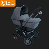 Famous stroller supplier produce the customized baby carriage with healthy textile to care babys' skin and easy to wash