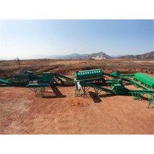 Fully automatic municipal solid waste garbage sorting conveyor plant management equipment