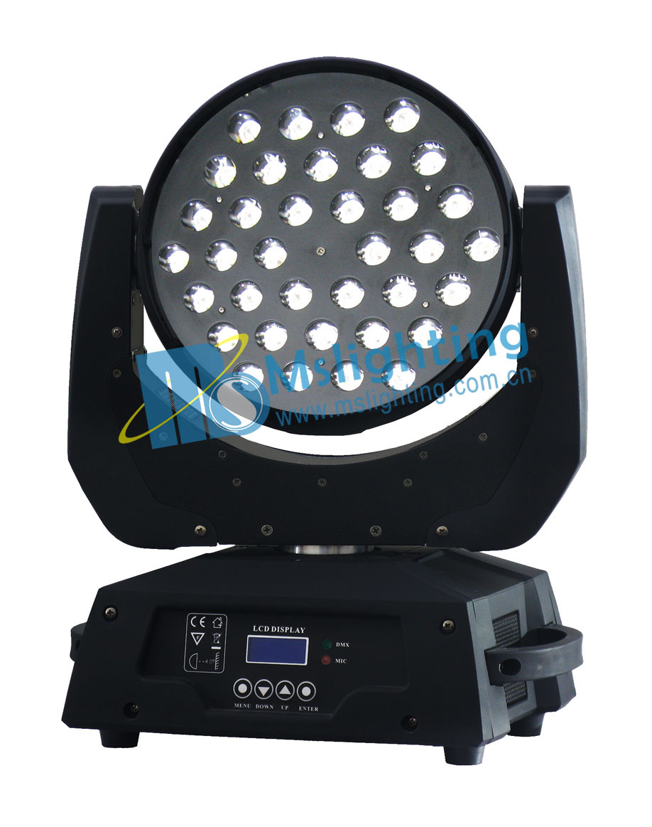 New 2014 36*10w rgbw 4in1 moving head light led