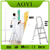 Best price for ladders 3 step household ladder portable aluminum stairs