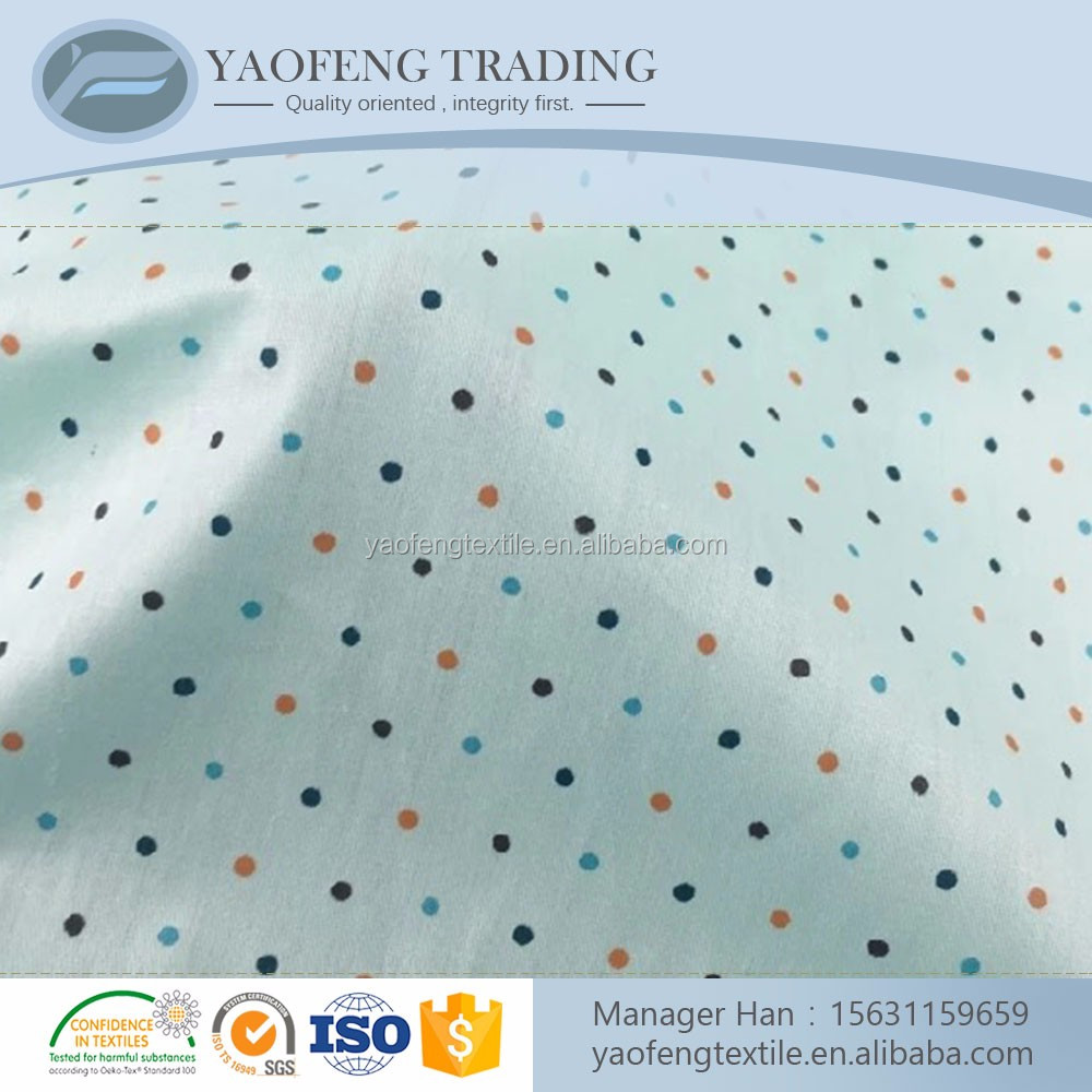 Wholesale custom 60*60 cotton fabric importation from china