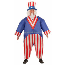 Inflatable Uncle Sam Costume for Adults