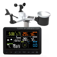 2016 New arrival APPs Professional Color screen Weather Station with wi-fi connection