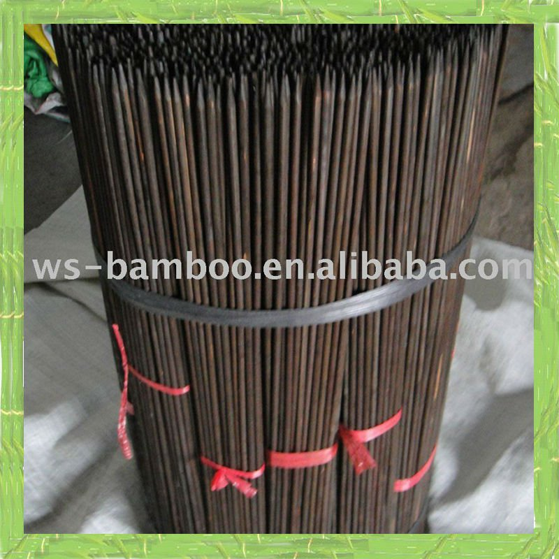 Plant support of bamboo stick