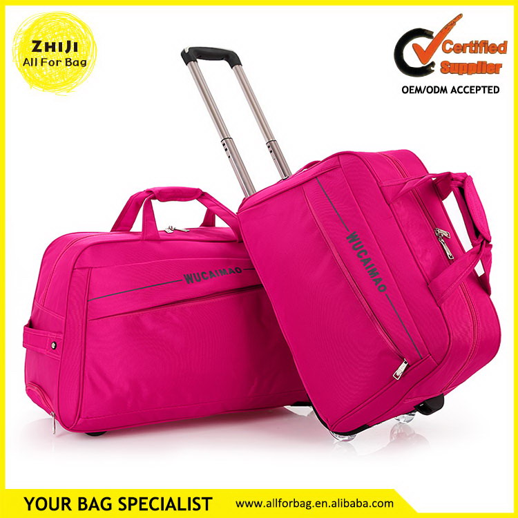 Shanghai manufactory competitive travel famous brand luggage
