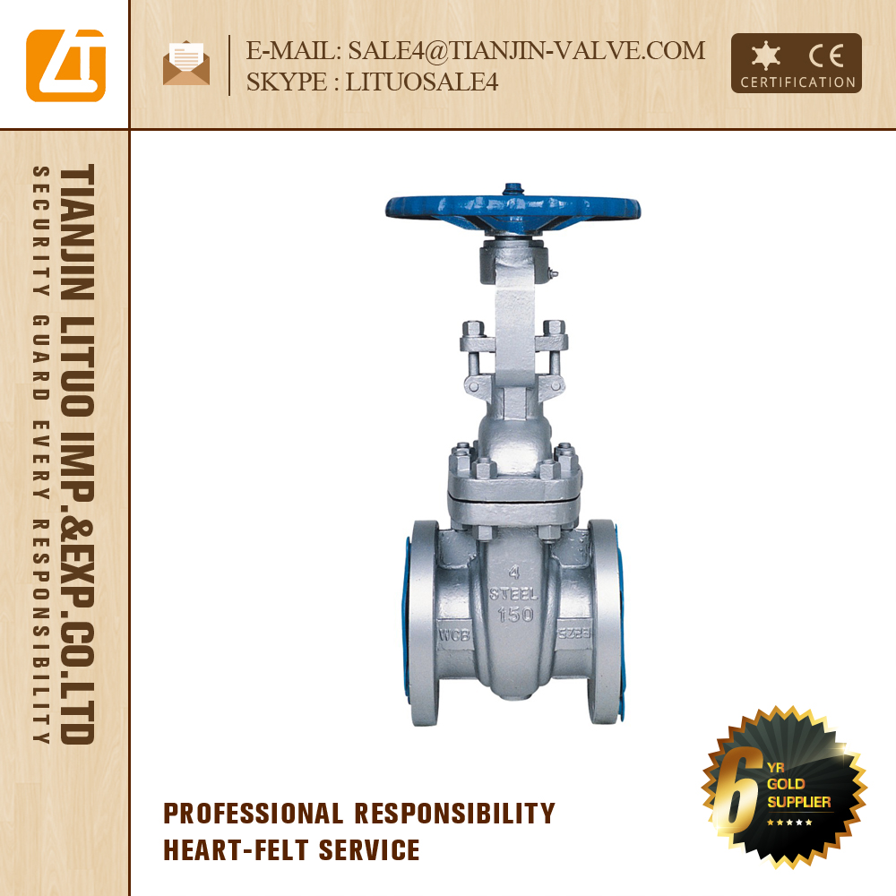 stainless steel 316 20 gate valve