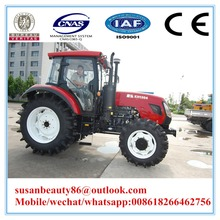 Chinese 145hp 4wd tractors and equipments