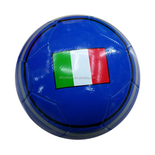 Hot sell 2.7mm customized national flag printed PVC soccer ball/ football