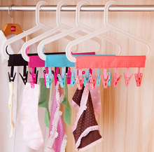IN STOCK Folding Plastic Travel Laundry Clothes Drying Clip