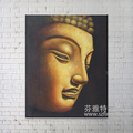 Canvas Wall Art abstract Oil Buddha Painting