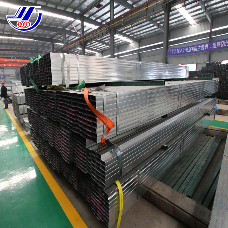 Philippines CS Galvanized Square Welded Steel Pipe WITH PVC Surface
