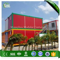 Low Cost Construction Site Steel Structure
