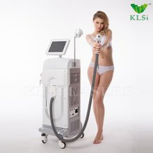 China 808 diode laser HR SR FHR and SHR three modes salon use hair removal machine