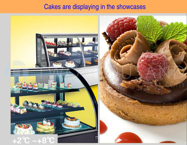 Cupcake Display - 5 Shelves, Refrigerated, 2-8 'C, 1100 Watt, TT-MD45C