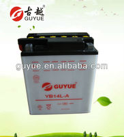 Optima 12V 14Ah MF Motorcycle Battery with Best Price