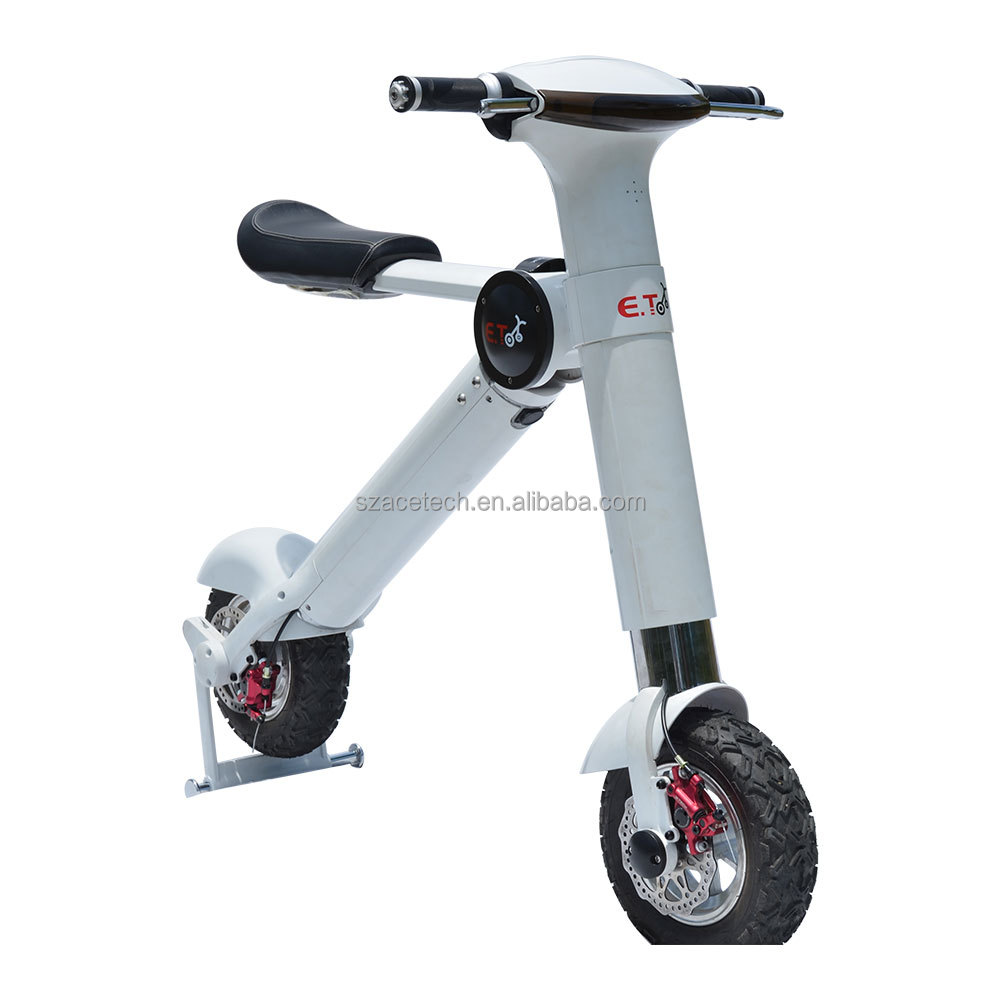 2016 Acetech CE mini scooter 2 wheel cargo electric pedal assisted bicycle bike for adults