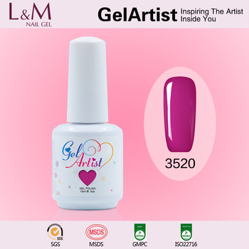 Gel Nail Supplier GelArtist High Quality UV/ LED Color Gel Polish