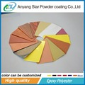 Anyang Star Good Adhesion High Recovery Rate Wooden Texture Powder Coating Pigment