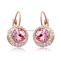 OUXI 2016 gold designs earrings for woman 20122