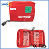 2016 High Qualtiy Medical Devices Type YY-F-09 Red EMS First Aid Bag Kit Small Size Emergency Bag