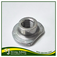 Steel aluminum cage custom rivet Wheel T nuts