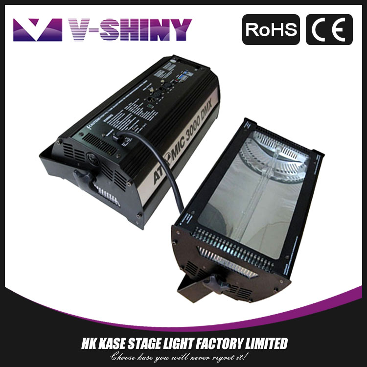 Top quality 3000w dmx strobe light